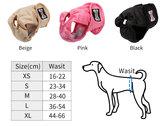 Loopsheidbroekje Beige Dogs&Co