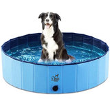 Hondenzwembad blauw 120x30 Dogs&Co