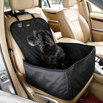 Autostoel voor de hond 45x45cm zwart Dogs&Co