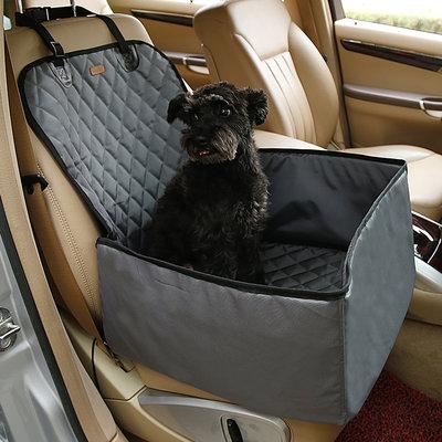 Autostoel voor de hond 45x45cm Grijs Dogs&Co