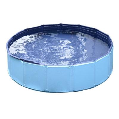 Honden zwembad 120x30 cm Blauw