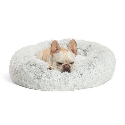 Fluffy Donut Lichtgrijs 100 cm (L) Dogs&Co