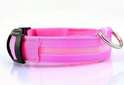Led Halsband Roze