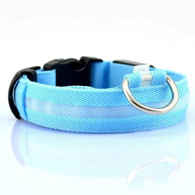 Led Halsband Blauw