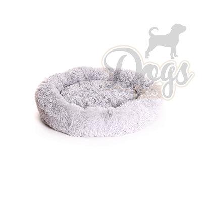 Fluffy Donut Lichtgrijs 70 cm (M) Dogs&Co