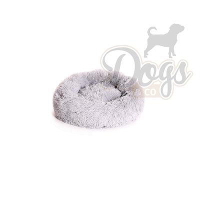 Fluffy Donut Lichtgrijs 50 cm (S) Dogs&Co