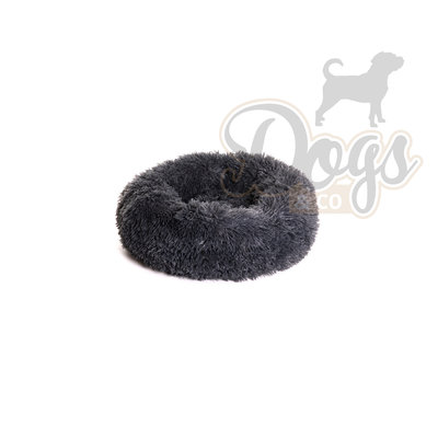 Fluffy Donut Antracite 50 cm (S) Dogs&Co