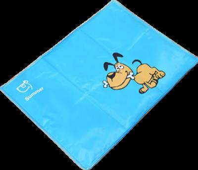 Dogs & Co Funny Koelmat Blauw maat S 40x30 cm