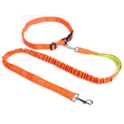 Hardlooplijn met Heupriem Oranje