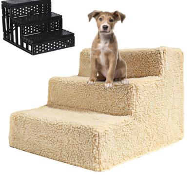 Honden Trap Beige 35x45x30 cm
