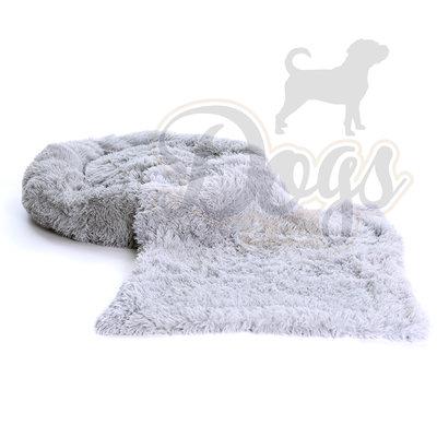 Dogs&Co Fluffy Combi Grijs Maat M