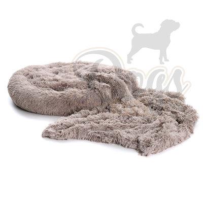 Dogs&Co Fluffy Combi Khaki Maat M