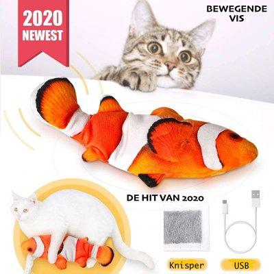 Dogs&Co Electronisch Kattenspeeltje - Bewegende Vis-Nemo