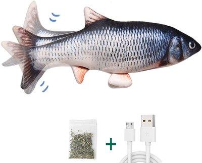 Dogs&Co Electronisch Kattenspeeltje - Bewegende Vis- Voorn