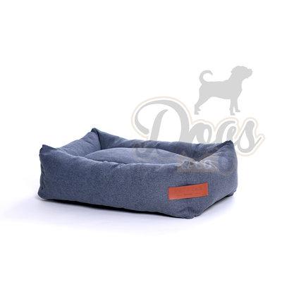 Dogs&Co Hondenmand Jeans Grijs Maat M 80x55cm