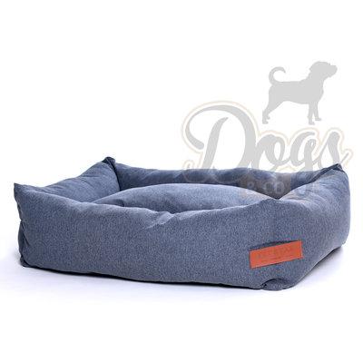 Dogs&Co Hondenmand  Jeans Grijs Maat L 100x70cm