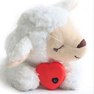 Knuffel met hartslag speciaal voor puppy's