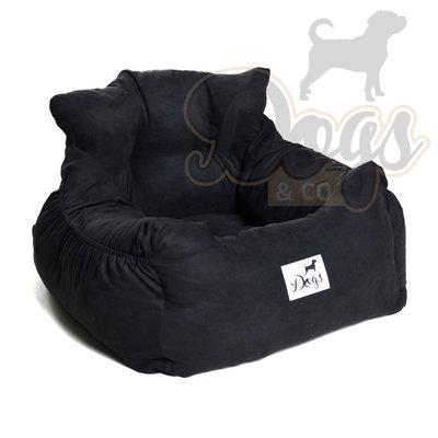 Dogs&Co Luxe honden autostoel ROYAL ZWART
