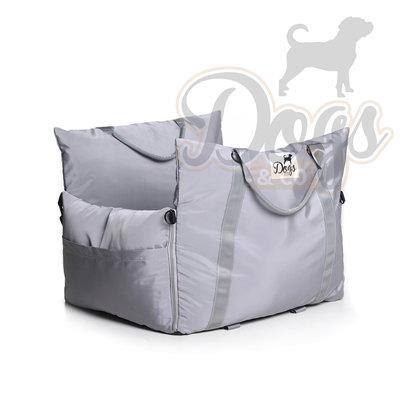 Dogs&Co Luxe Honden autostoel  Royal+  Grijs Waterproof