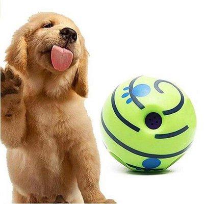 Interactieve speelbal - Wiebel-Giechel Speelbal voor de hond