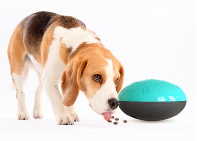 Dogs&Co Hondenspeelgoed: Piepende voerbal