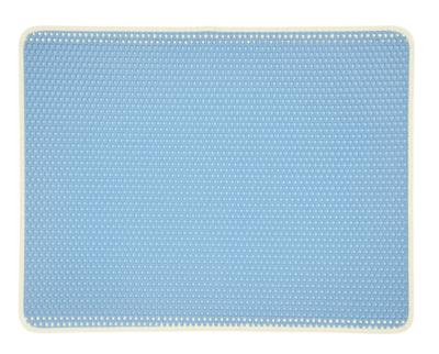 Cats&Co kattenbak uitloopmat XL 75x55cm Blauw