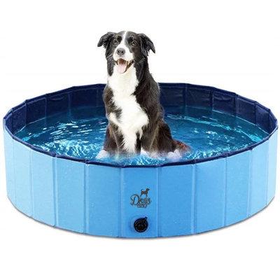 Dogs&Co Honden zwembad 160x30 cm Blauw