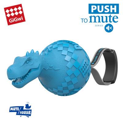 Gigwi Dinoball Push To Mute - T-Rex