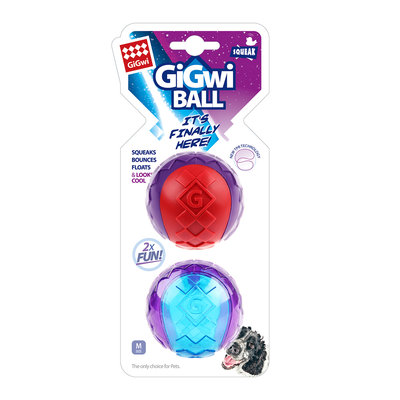 Gigwi squeaky  Ball  maat M