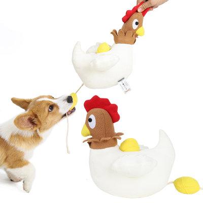 Dogs&Co Snuffelknuffel  Kip met eieren - Denkspel voor de hond - Chicken