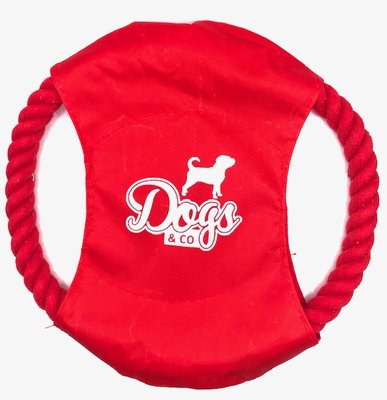 Dogs&Co Frisbee rood