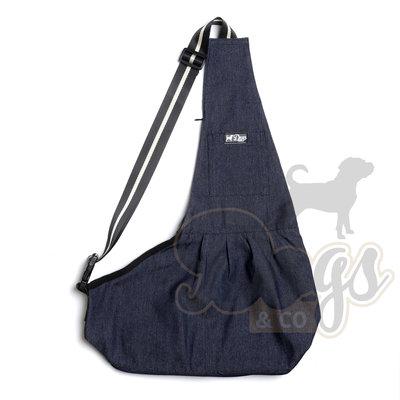 Dogs&Co Draagtas Hond - Denim Blauw - Hondentas 64x45 cm