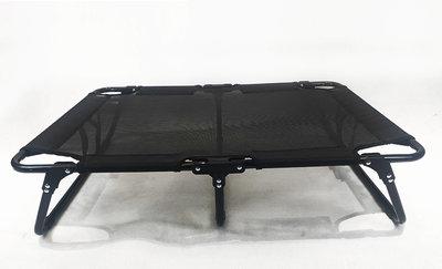 Dogs&Co Stretcher Zwart - Outdoor hondenstretcher - opvouwbaar 89x61x20cm