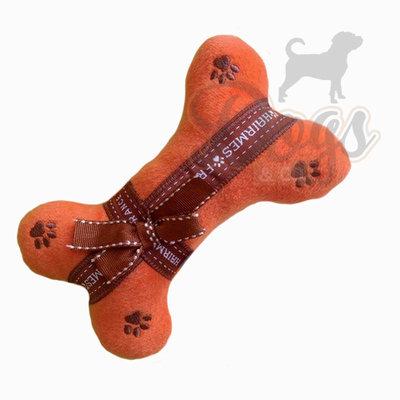 Designer knuffel voor je hond - Hondenspeelgoed Hairmes Luxurious Bone