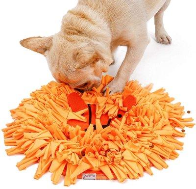 Dogs&Co Snuffelmat Oranje Leeuwenkop