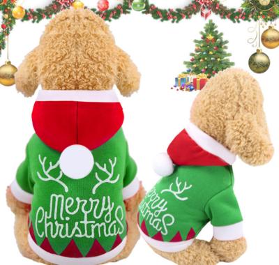 Kerst Sweater voor kleine viervoeters Groen
