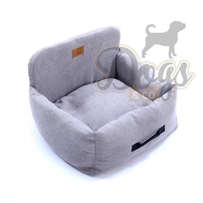 Dogs&Co Luxe honden autostoel SPECIAL  grijs