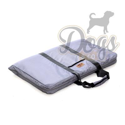 Draagbare Honden Reismat Grijs 120x85cm Maat L
