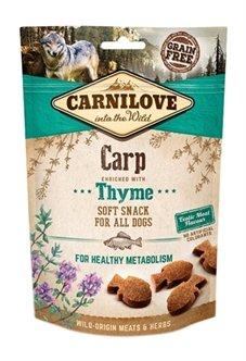 Carnilove Soft Snack Karper / Tijm 200 gr