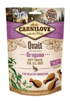 Carnilove Soft Snack Kwartel / Oregano 200 gr
