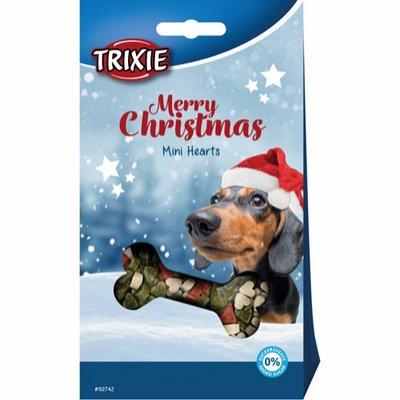 Trixie Mini Hearts - Merry Christmas - hondensnoepjes - 140g